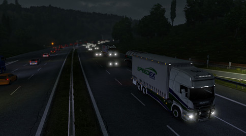 The Euro Truck Simulator 2 life