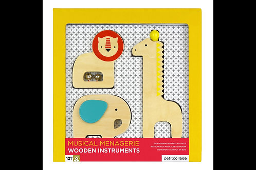Musical Menagerie Wooden Instruments