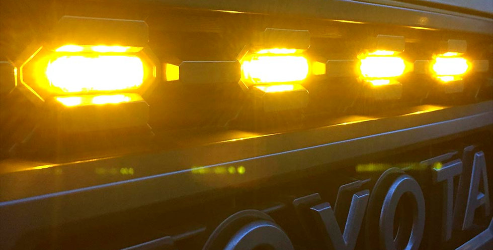 Tacoma LED Raptor Lights