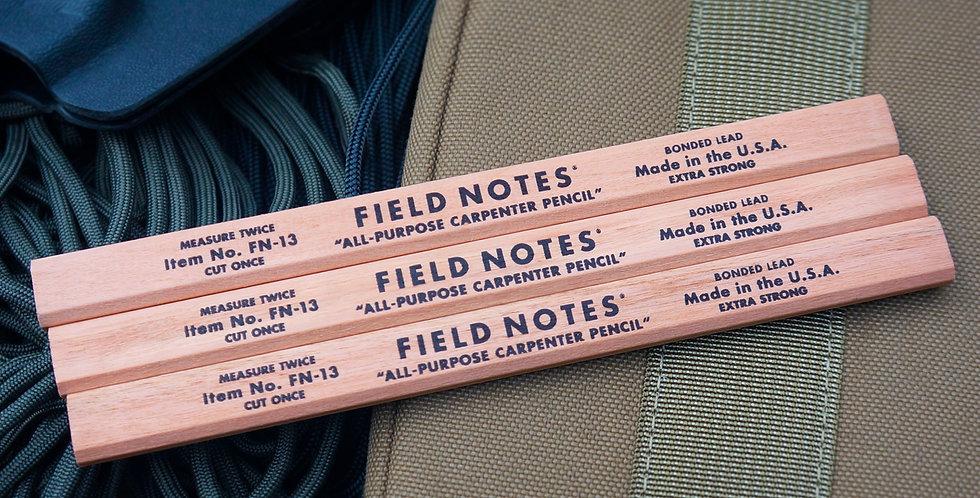 Field Notes - Carpenter Pencil 3-Pack