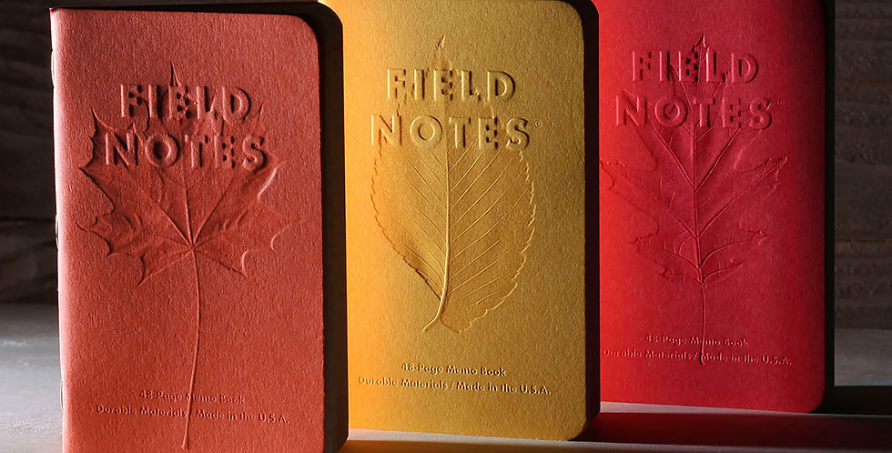 Field Notes - Autumn Trilogy 3-Pack