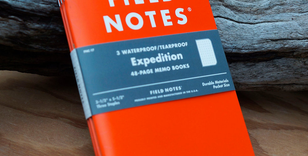 Field Notes - Expedition Notes 3-Pack