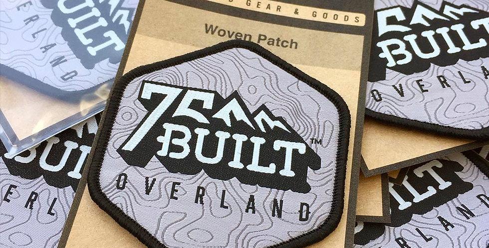 75Built Logo Patch