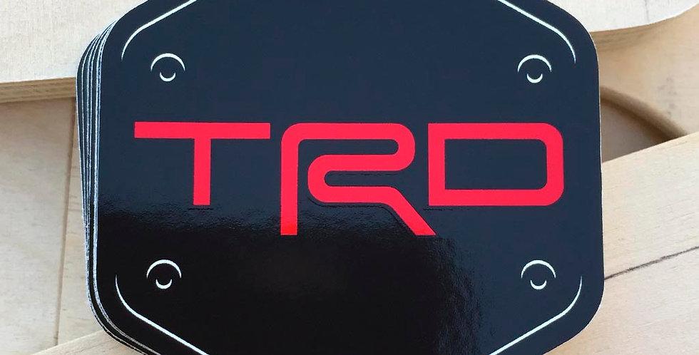 TRD Sticker