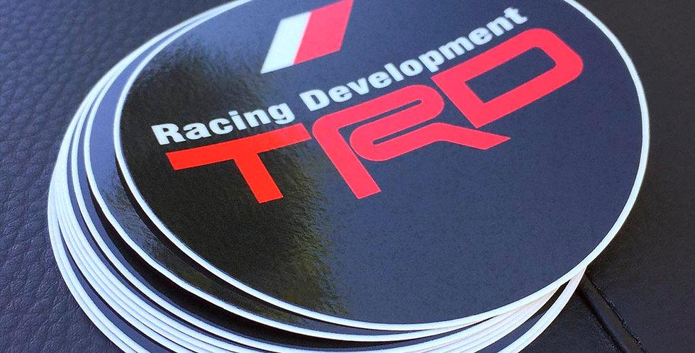 TRD Racing Development Circle Sticker