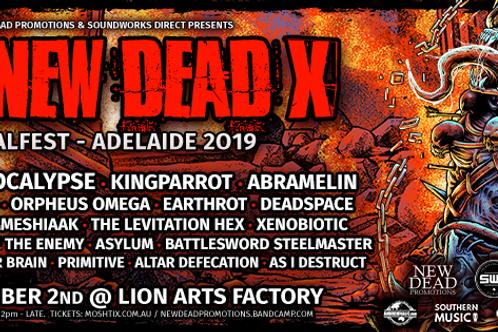 GA Ticket The Dew Dead X