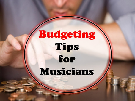 Budgeting as a Musician