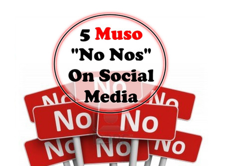 "5 Social Media ""No-Nos"" for Musicians"