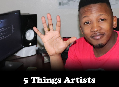 5 Things Artists Should Stop Doing