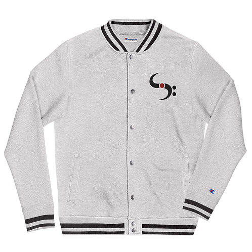 SkillMusicSA Embroidered Champion Bomber Jacket