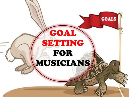 GoalSetting for Musicians