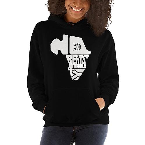 #NoBeats4Mahala Wht Logo Unisex Hoodie
