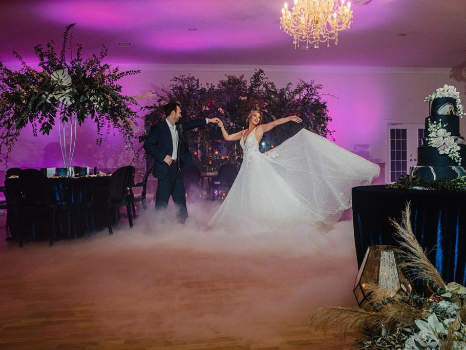 Wedding Venue in Cypress, Couple dancing