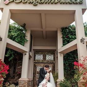 Wedding Floral Entrance