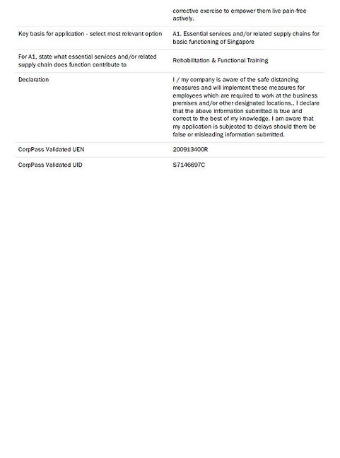 Application for Exemption from Suspensio