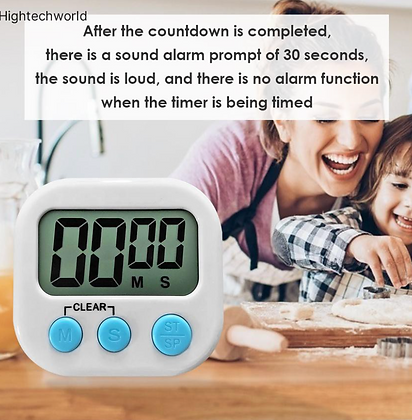 Magnetic LCD Electronic Timer