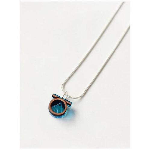 Tia Necklace - Blue