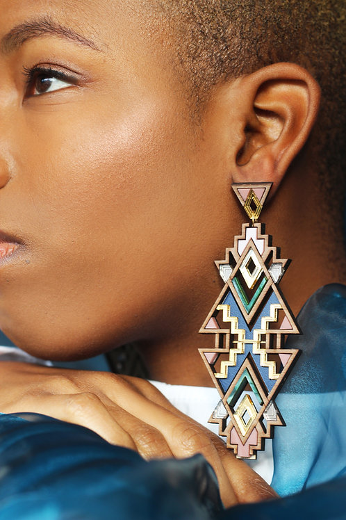 Themba Earrings - Limited Edition