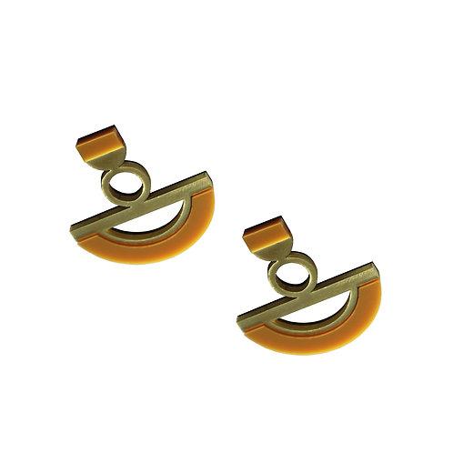 Ife Earrings in Caramel