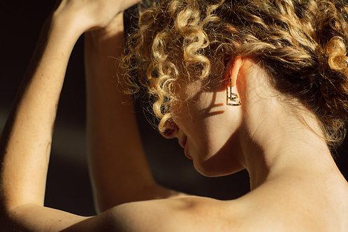 Triple Arc Earrings