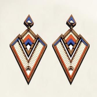 CHALK_Derin earrings colour back ground.