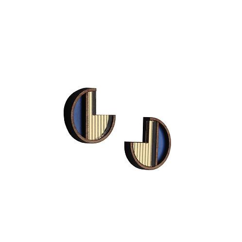 Soleil Purple Earrings