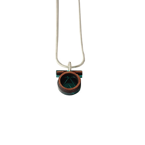 Tia Necklace - Teal