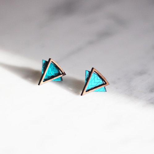 Laila Teal Earrings