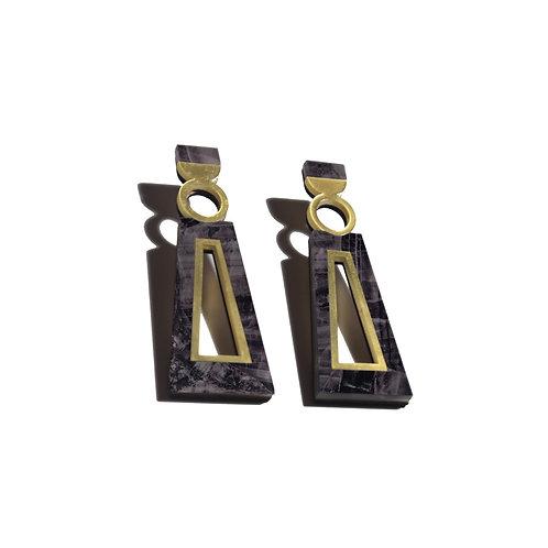 Navi Earrings in Emperado