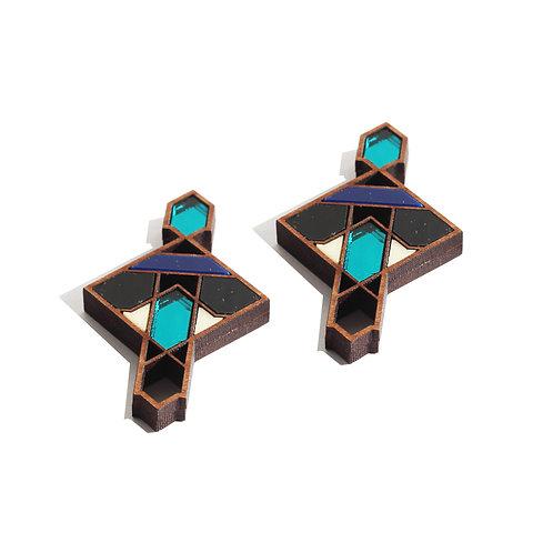 Iman Statement Earrings