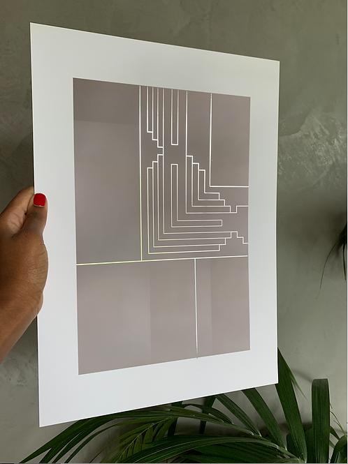 Scarpa 03 - Silver foil