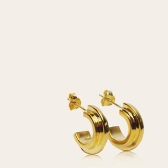 Double Arc Earrings