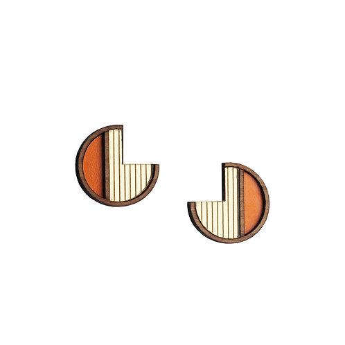 Soleil Orange Earrings