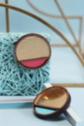Chalk Jewellery, shaped objects collection, ricardo bofill, architecture, inspired, architectural, lasercut, handmade, walnut, acrylic, pespex, jewellery, jewels, jewelry, blogsbynoel, still life