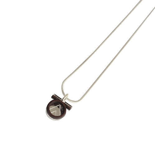 Tia Necklace -Silver