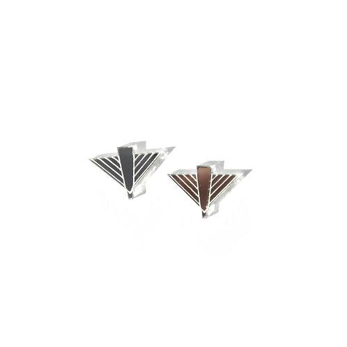 Flight Earrings - Silver