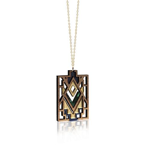 Mandala Pendant - Emerald