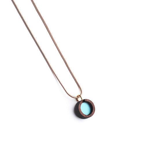 Circle Necklace - Mint