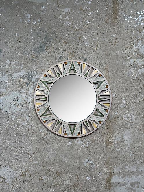 Nea Mirror - Khaki Caramel