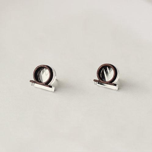 Tia Earring -Silver