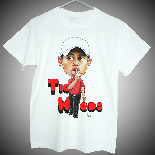 tiger woods t shirt