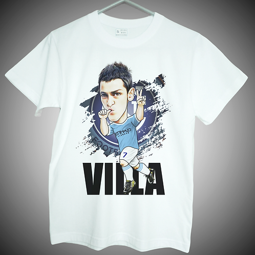 david villa t shirt