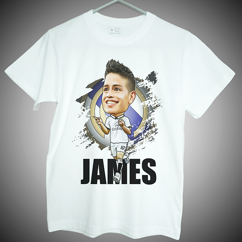 james rodriguez t shirt