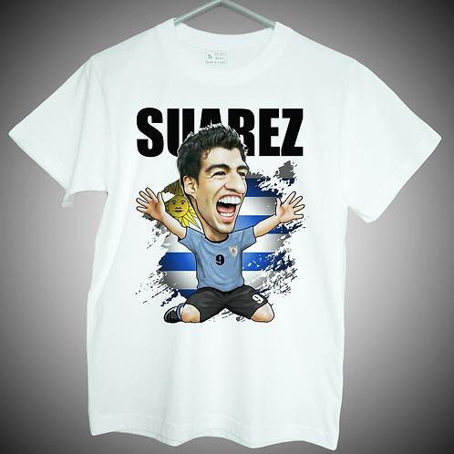 Luis Suarez Uruguay T-shirt