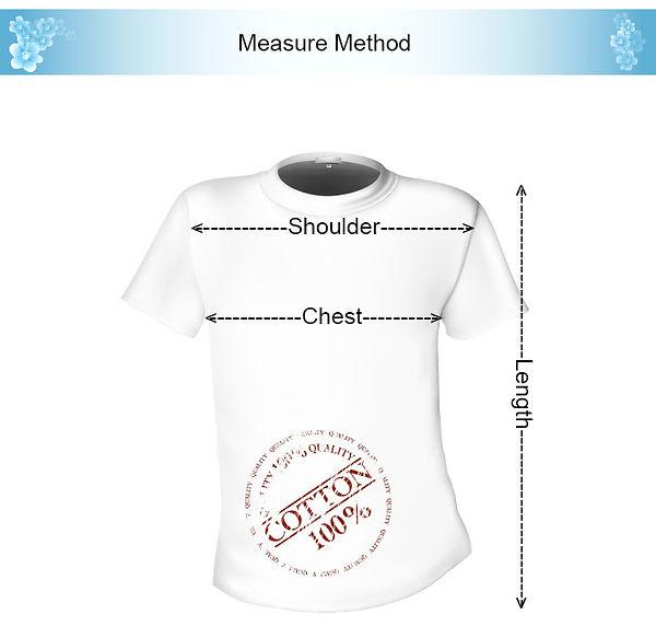 t-shirt measure method