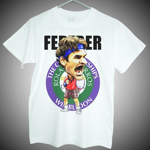 roger federer t shirt