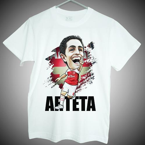 mikel arteta t shirt