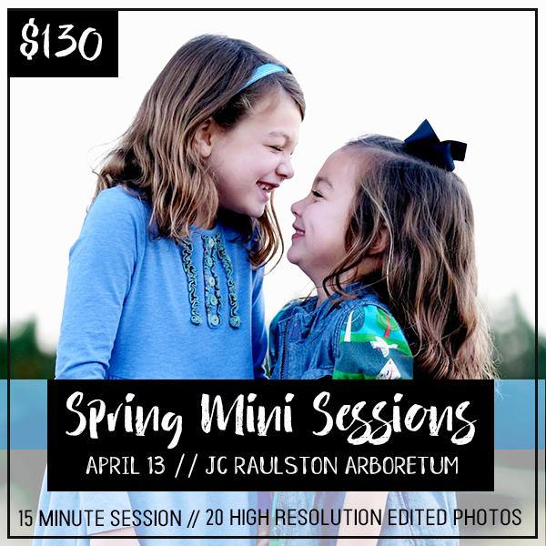 Spring Mini Sessions