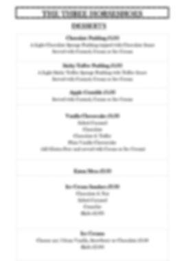 Menu - Desserts - Autumn 2019 for websit