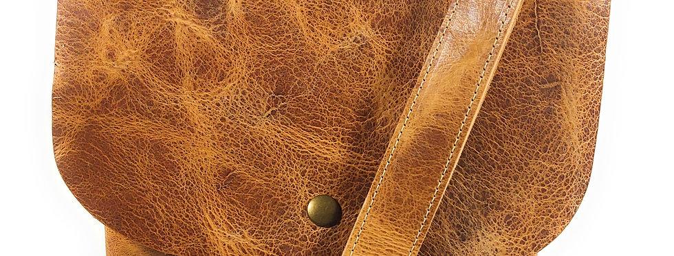 Honey Leather Satchel